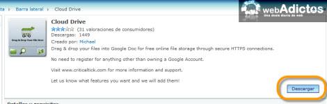 Subir documentos a Google Docs con un click - descargar-cloud-drive