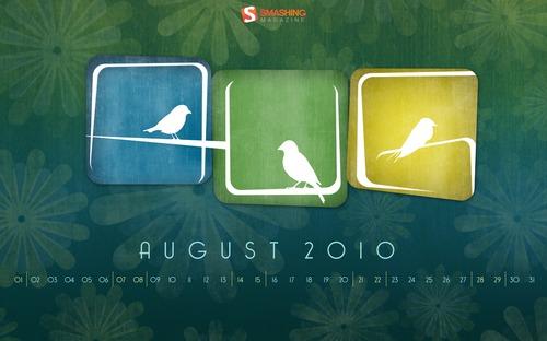 Fondos de pantalla, Agosto 2010 - fondos-gratis-aves-lacuna