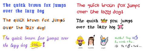 fuentes divertidas fontself Fuentes divertidas en tus mensajes con Fontself