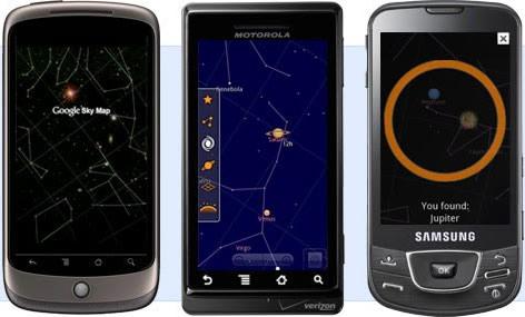 Explorar las estrellas en Android, Google Sky Map - google-sky-map