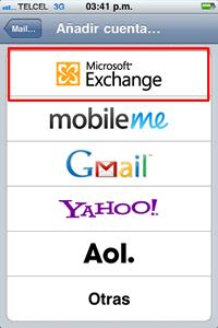 Configuración Push hotmail - hotmail-push-iphone