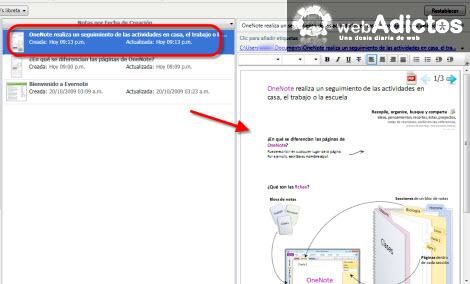 Importar una nota de OneNote 2010 a Evernote - importar-nota-onenote-a-evernote