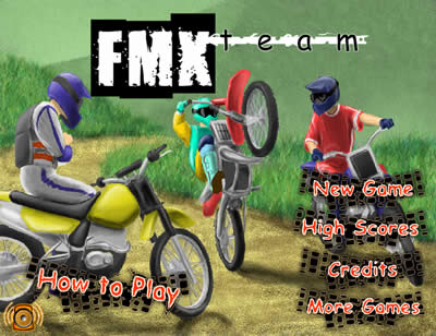 Juegos de motos, FMX Team - juegos-motos