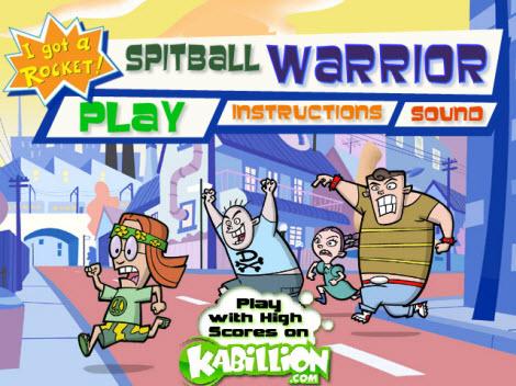 Juegos Gratis, Spitball Warriors - jugar-spitball-warrior