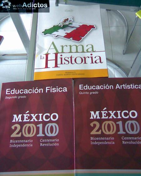 SEP lanza nuevos libros de texto gratuito por Bicentenario - libros-educacion-fisica-artistica