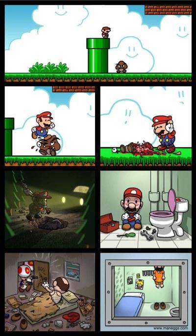 mario bross asesino Mario Bros asesino