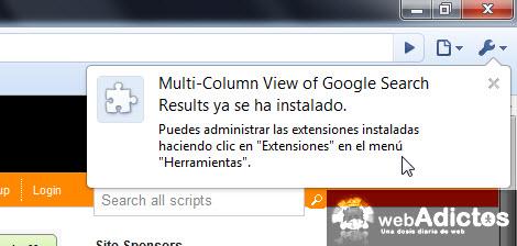Permitir la búsqueda en multicolumas en Chrome - multicolumnas-busqueda-google