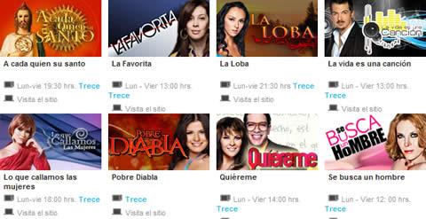 Novelas televisa y Tv Azteca online - novelas-tv-azteca