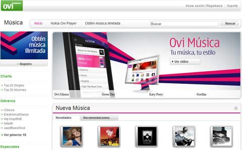 ovi musica Nokia Music ahora es Ovi Music