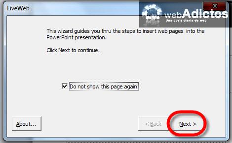 Agregar páginas de internet en Power Point - pasos-insertar-pagina-web-ppt