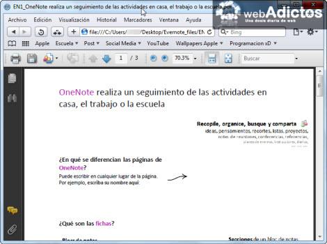 Exportar tus notas de Evernote a formato HTML - pdf-en-nota-html