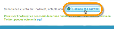 Ayuda al medio ambiente con tus tweets y EcoTweet - registro-ecotweet