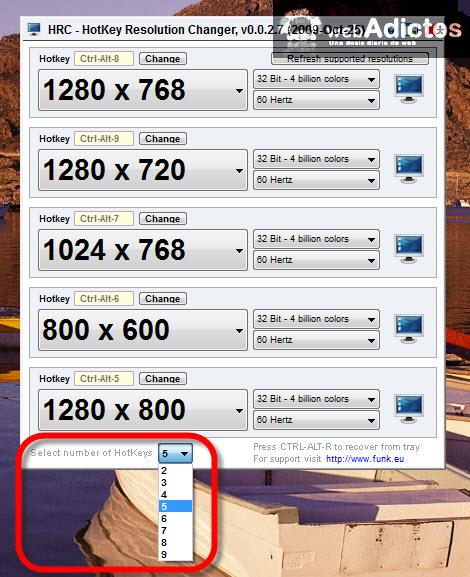 Cambiar la resolución de la pantalla con un atajo - resolucion-pantalla-cambiar
