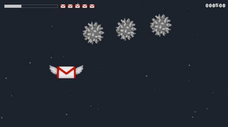 Galactic Inbox, Gmail nunca fue tan divertido - sagadf