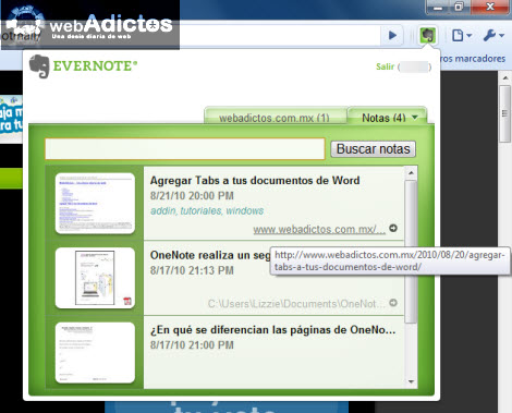 Recuerda todo lo que ves en internet con Evernote - sincronizar-notas-evernote