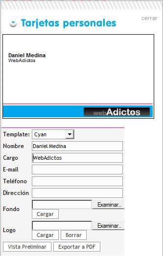 Hacer tarjetas de presentacion en ImprimoFacil.com - tarjetas-presentacion
