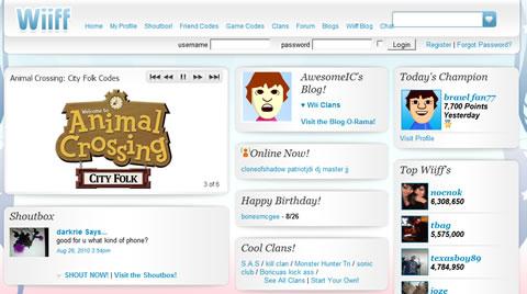 Wiiff.com, la red social de Nintendo Wii - wiif-nintendo-wii