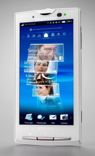 Nuevos Sony ericsson Xperia con Android - xperia-x10