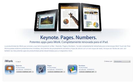 Actualizacion iwork iPad 0 iWork para iPad se actualiza en grande