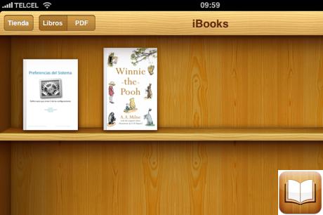 Agregar ePub o PDF a iBooks 5 Agregar un ePub o PDF a iBooks