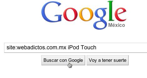 Buscar dentro de un sitio desde google 3 Tips de búsqueda con Google: Busca dentro de un sitio