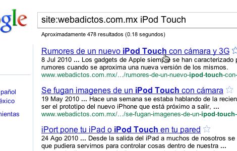 Buscar dentro de un sitio desde google 4 Tips de búsqueda con Google: Busca dentro de un sitio