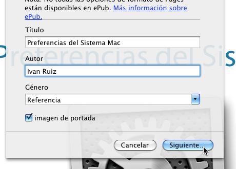 Exportar a formato epub libro electronico pages 4 Exportar en formato ePub desde Pages