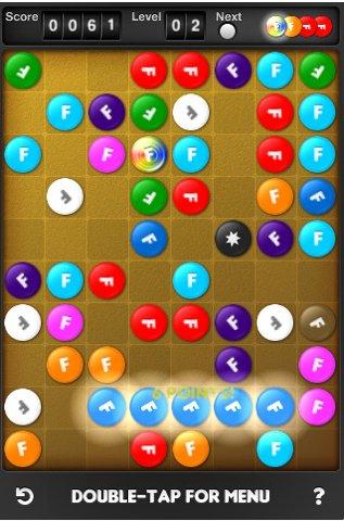 Juegos iPod/iPhone, Fuzzle - Fuzzle