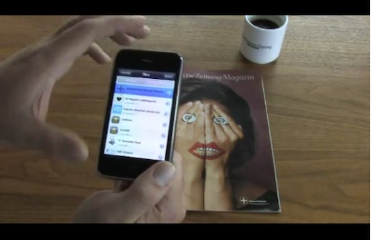 La primera revista tradicional en incorporar realidad aumentada - Revista-con-realidad-aumentada