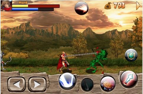 Juegos iPod/iPhone, Warrior Nation Blade - Warrior-Nation-Blade