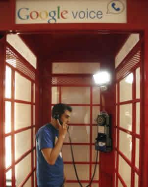 google voice cabina telefono Gmail en cabinas de teléfono con Google Voice