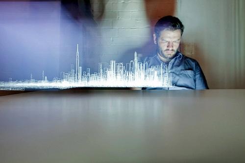 iPad holograma Mira como se usa un iPad para crear hologramas