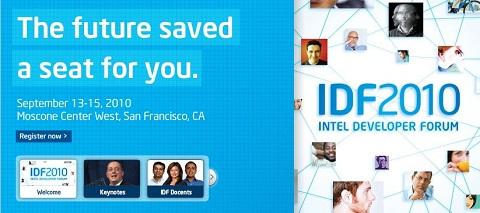 Intel Developer Forum 2010 - intel-developer-forum-2010