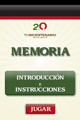 juegos iphone memoria Juegos para celular del bicentenario