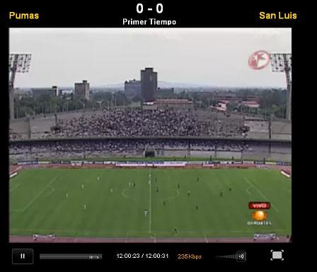 pumas san luis en vivo apertura 2010 Pumas vs San Luis en vivo, Apertura 2010