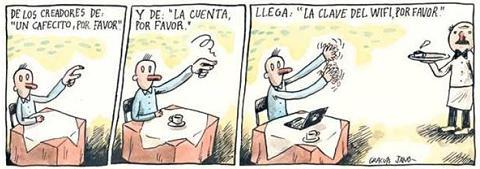 La cuenta y el WiFi porfavor [Humor] - restaurante-wifi