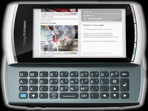 Sony ericsson Vivaz pro - sony-ericsson-vivaz-pro-front
