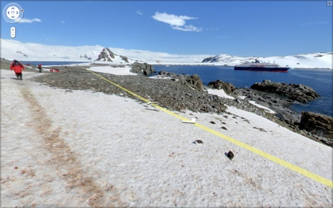 street view antartida Google Street View llega a la Antártida