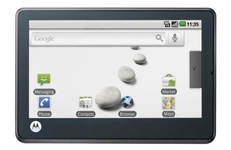 Motorola lanzará tablet con Android 3.0 en 2011 - tablet-motorola-android