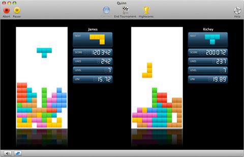 Juegos para mac, Quinn Tetris - tetris-mac