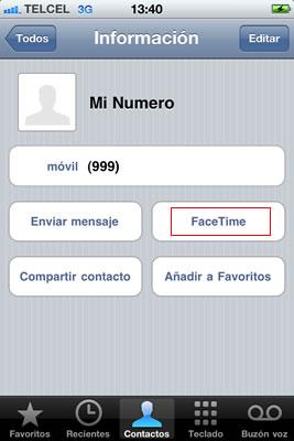 Activar FaceTime en iPhone - usar-facetime-iphone