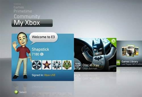 Se filtra el nuevo Dashboard del Xbox 360 - xbox360_dashboard1