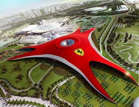 Parque tematico Ferrari Parque temático Ferrari