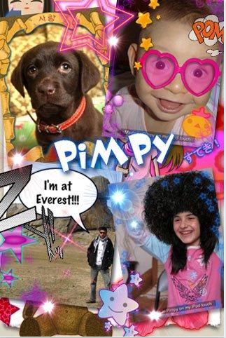Enchula fotos en el iPhone con Pimpy - Pimpy
