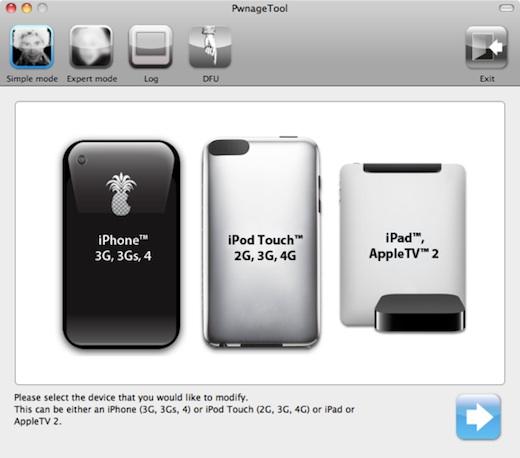 Primera captura de la nueva versión de Pwnage Tool - Pwnage-Tool-