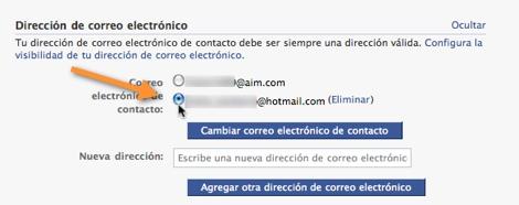 Como cambiar tu correo de contacto en Facebook - cambiar-cuenta-contacto-facebook