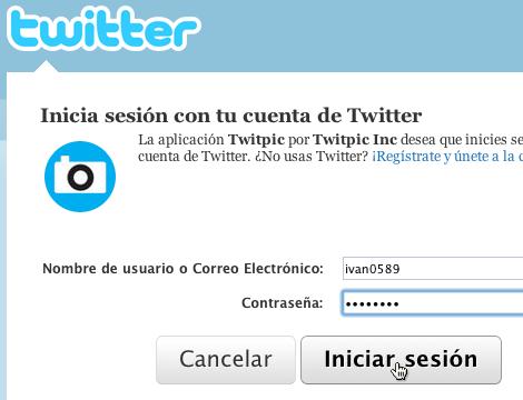 compartir imagenes twitter con twitpic 3 Compartir imágenes en Twitter desde Twitpic