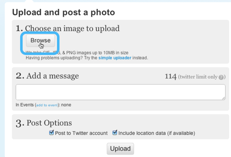 compartir imagenes twitter con twitpic 5 Compartir imágenes en Twitter desde Twitpic