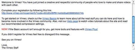 Crear una cuenta en Vimeo - confirmacion-vimeo
