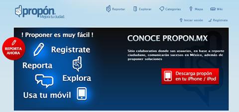 Propon.mx, denuncias y propuestas ciudadanas - denuncias-ciudadanas